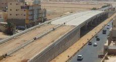 استمرار أعمال الجسر في تبوك