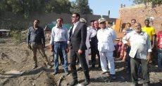 نائب محافظ القاهرة يتابع أعمال إزالة عين الحياة