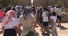سياح أجانب فى مصر - ارشيفية