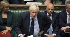 رئيس الوزراء البريطالنى بوريس جونسون