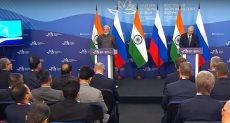 روسيا والهند توقعان حزمة من الاتفاقيات