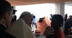 البابا في موزمبيق