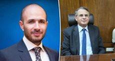 د . أحمد طلبة نائب رئيس جامعة مصر وخالد الطوخى رئيس مجلس الأمناء