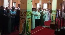 جانب من صلاة الجنازة على جثمان العالم أبو بكر عبد المنعم بالقليوبية