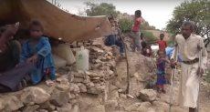 النازحون بسبب الحرب في اليمن