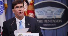 مارك إسبر وزير الدفاع الأمريكى