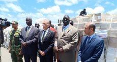 مساعدات مصرية لجنوب السودان