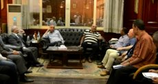 محافظ الأقصر مع رئيس الهيئة القومية لمياة الشرب