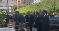 رئيس الوزراء يستقبل نظيره السودانى