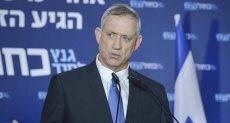 بينى جانتس زعيم حزب أزرق أبيض الإسرائيلى