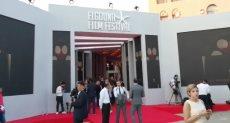توافد الصحفيين والإعلاميين بمهرجان الجونة السينمائي