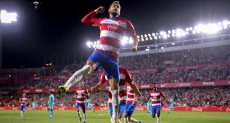 مباراة برشلونة وغرناطة