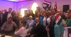أبناء الجالية المصرية بالولايات المتحدة