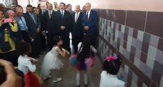 محافظ القليوبية يفتتح مدرستين ببنها