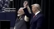 الرئيس الأمريكي ورئيس وزراء الهند