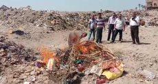 إعدام كميات كبيرة من الحلوى لاحتوائها على ألوان مسرطنة بسوهاج