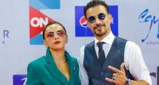 أحمد داوود وزوجته