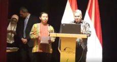 حلمى فوزى سفير إندونيسيا فى مصر