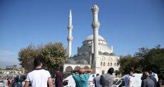 انهيار مأذنة مسجد فى  إسطنبول