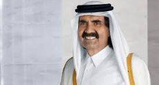 حمد بن خليفة آل ثاني حاكم قطر السابق وتميم