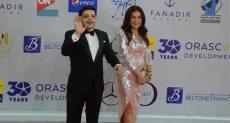 محمد هنيدى وزوجته