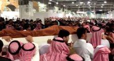 جنازة اللواء بالحرس الملكي السعودى عبد العزيز الفغم