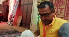 صانع حصير يدوى محمد فوزى السيد