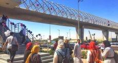 جانب من احتفالات جامعة مصر بانتصار أكتوبر