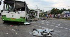 حادث تصادم _ صورة أرشيفية