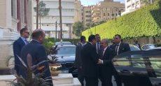 رئيس الوزراء يستقبل نظيره الفلسطيني بمقر مجلس الوزراء