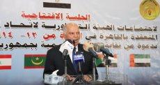 خلف الزناتي نقيب المعلمين المصريين ورئيس اتحاد المعلمين العرب