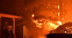 حرائق الغابات فى كاليفورنيا الأمريكية