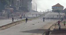 احتجاجات عنيفة فى غينيا