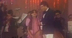 الفنانة أنغام تغني مع والدها