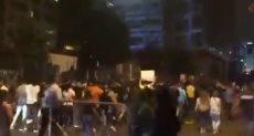 التظاهرات في بيروت