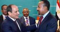 الرئيس عبد الفتاح السيسى ورئيس وزراء إثيوبيا