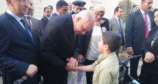 محافظ الجيزة يكرم ابناء الشهداء
