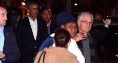 أوباما وروبرت دي نيرو