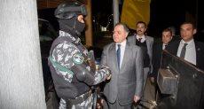وزير الداخلية اثناء الجولة