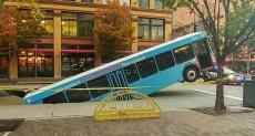 سقوط الحافلة