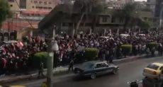 جانب من المسيرة