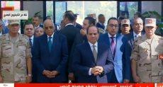 الرئيس السيسي يفتتح مصنع الغازات الطبية والصناعية