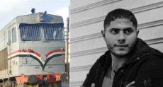 ضحية حادث قطار الاسكندرية