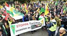 مظاهرات الأكراد فى باريس - أرشيفية