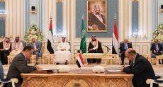 محمد بن سلمان ومحمد بن زايد يشهدان توقيع الاتفاق