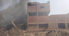 حريق مصنع ابو حوا