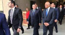 رئيس البرلمان خلال زيارته للمتحف المصري الكبير