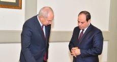 الرئيس عبد الفتاح السيسى ورئيس الهيئة العامة للمنطقة الاقتصادية لقناة السويس