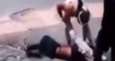 لحظة مقتل المتظاهر