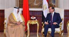 الرئيس عبد الفتاح السيسي وملك البحرين
